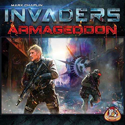 Unbekannt White Goblin Games WGG01633 - Invaders: Armageddon Expansion, Familien Standardspiele