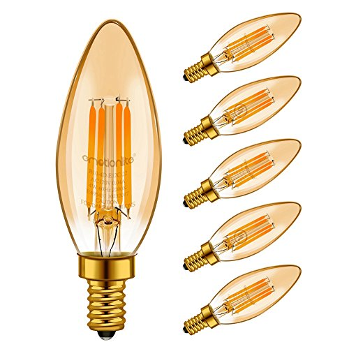 colored ceiling fan bulbs - 5