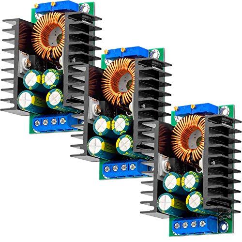 AZDelivery 3 x XL4016 Step Down Converter DC DC 5 40V bis 12 35V kompatibel mit Arduino inklusive E Book