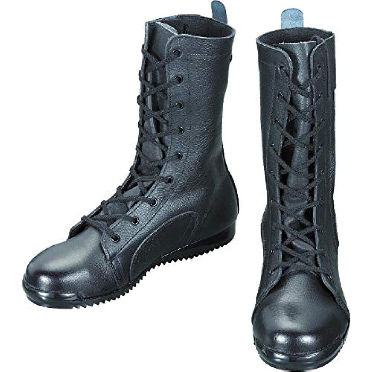 モロニックメロドラマティック強度シモン 安全靴高所作業用 長編上靴 3033都纏 27.5cm 3033-27.5