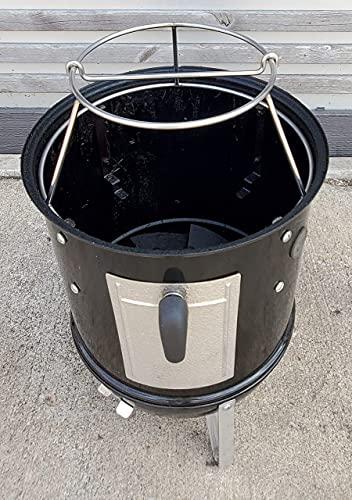 Smokers Edelstahl-Rippenaufhänger für 36,8 cm WSM (14,5 WSM)