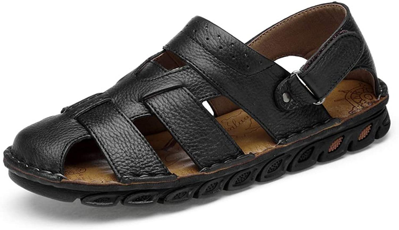 ZheRen Sandalen und Hausschuhe, Herrenmode Casual Sandalen, kühl kühl kühl atmungsaktiv Bequeme Klettverschluss im Freien Wohnungen Wasser Schuhe  2d60e1
