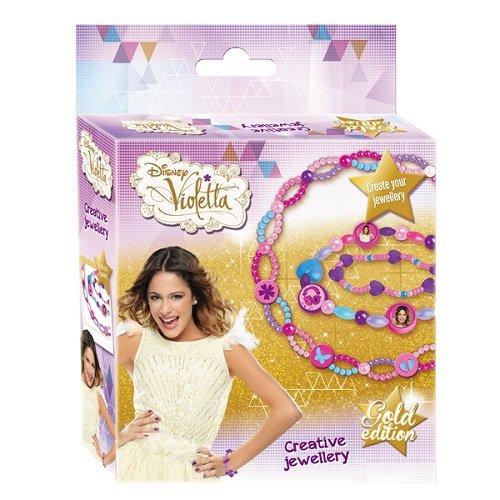 Kit loisirs créatifs pour enfant - Kit bijoux à créer Disney Violetta