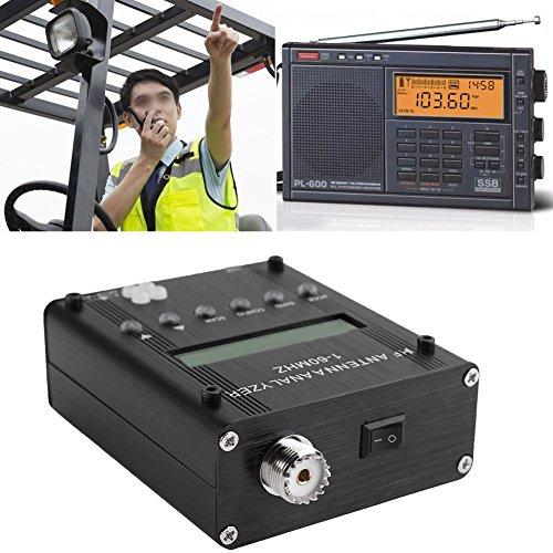Antenne-analysator Kortegolfmeter-tester, Digitaal Kortegolf-antenne-analysator Meter-tester 1-60M Voor Ham Radio Kortegolfantenne-analysator