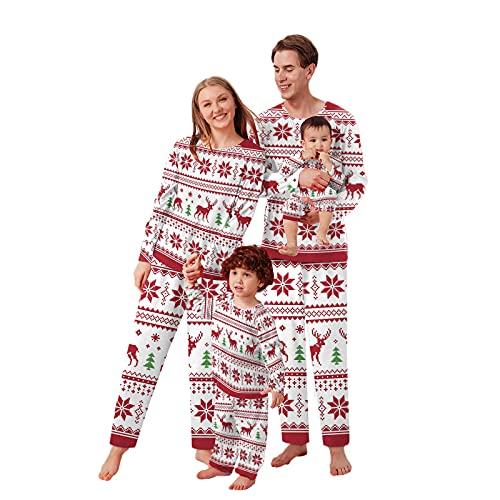 Weihnachts Pyjama Set Weihnachtspyjama Familie Schlafanzug Pyjama Outfit Pyjamas Winter Damen Herren Kinder Nachtwäsche Nachthemd Hausanzug Schlafanzüge Family Weihnachts Pyjama Sleepwear Schlafshirt