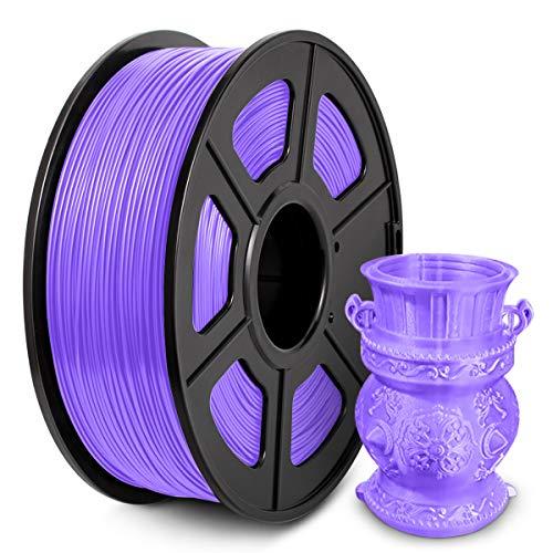 Filamento PLA 1,75 mm, Filamento PLA 3D per stampante 3D Penna 3D, Filamento PLA 1KG (2,2 libbre) PLA Viola