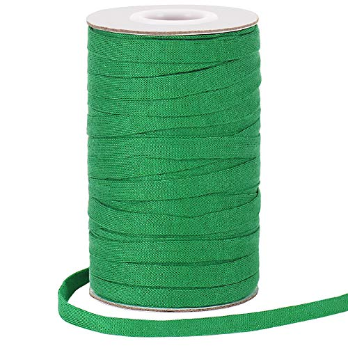 Garden Tree Tie, 164 Feet 8mm Soft Durable Green Plant Twine Stretchy Tree Supports Biodegradable for Tomato Plants, Climbing Roses and Vines Organizing