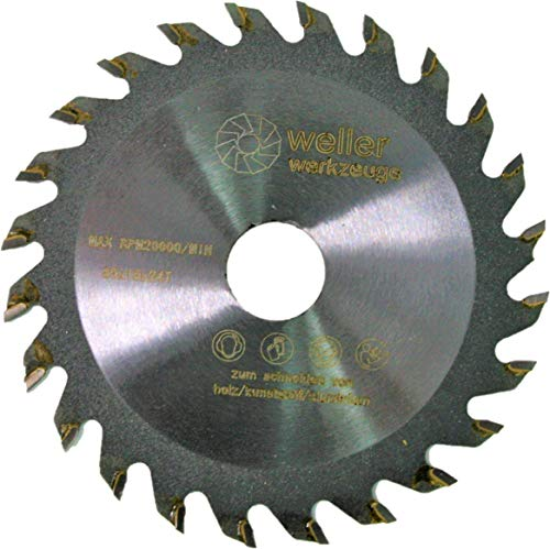 Profi HM Kreissägeblatt 85 x 15 mm 24 Zähne passend für Makita oder Bosch Kreissäge