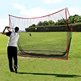 Qdreclod Red de práctica de Golf Net Plegable 3M X 2M Red Golf Practica Red de Entrenamiento de Golf al Aire Libre Interior con Bolsa de Transporte (Negro 3M X 2M)