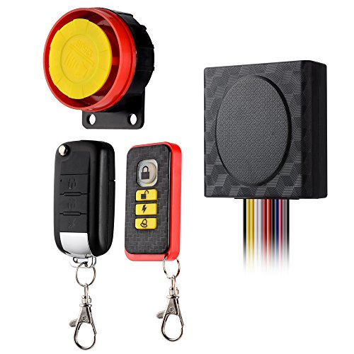 BlueFire Motorcycle Security Kit Alarm System Anti-Hijacking...