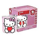 Hello Kitty - Taza, diseño Kitty con corazón