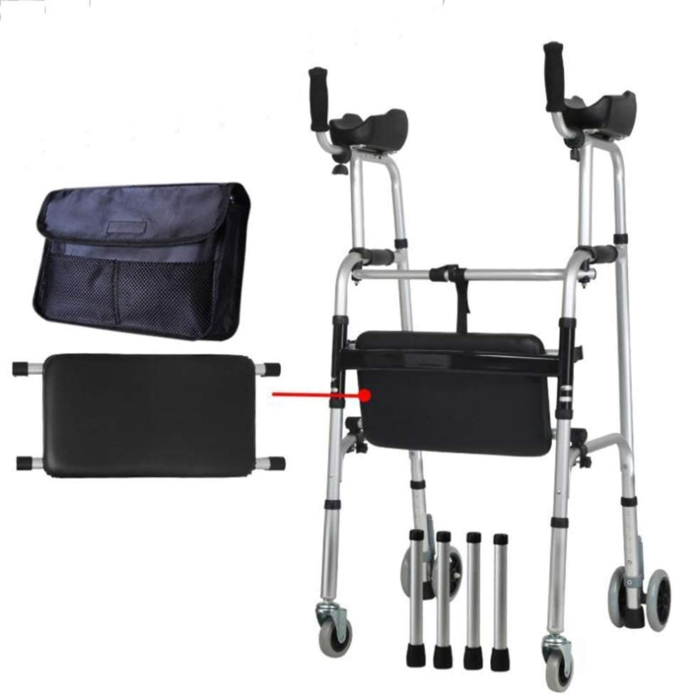 Walkers Al sold out. for seniors Walking Frame Seasonal Wrap Introduction Bariatric Heavy-Duty A Folding
