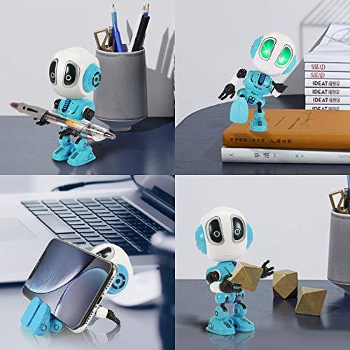 Tesoky Spielzeug für Jungen 3 4 5 6 7 8 Jahre, Roboter Kinderspielzeug Geschenke Mädchen Jungen 3-8 Jahre Spielzeug ab 3-8 Jahren für Jungen Mädchen Kinderspielzeug ab -8 Jahre Blau - 7