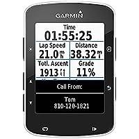 Garmin Edge 520 GPS - Ordenador de Bicicleta sin Banda de Cardio y sensores de Velocidad/cadencia, notificación Inteligente, conexión Ant + (Reacondicionado)