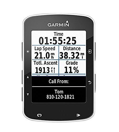 """Garmin Edge 520 - Ciclocomputador con GPS (pantalla de 2.3"""", Garmin Connect, sensor de potencia ANT+, hasta 15 horas autonomía), negro - solo dispositivo"""