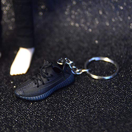 ANCHANG AJ Jordan llavero 3D estéreo modelo de zapatilla de deporte Mini bolso llavero coche motocicleta decoración colgante niños / niñas regalo 5 cm * 1,8 cm * 2 cm estilo-21