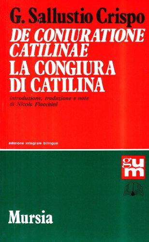 De coniuratione Catilinae-La congiura di Catilina