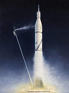 mercury redstone rocket model