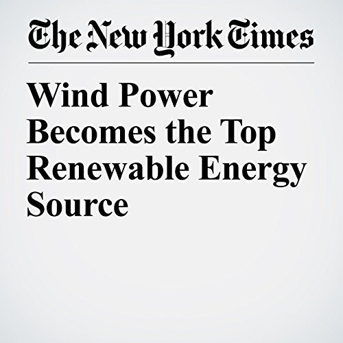 Wind Power Becomes the Top Renewable Energy Source copertina