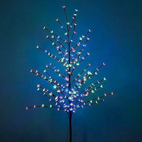 Hengda Árbol Flor de Cerezo 220cm 220 Luces LED Forma de Fl
