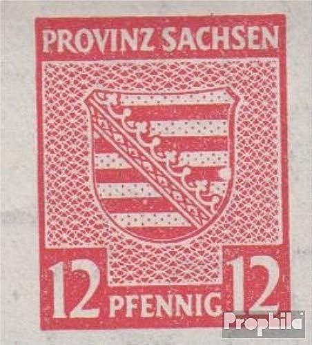 Prophila Collection Sowjetische Zone (All.Bes.) 71II, Weißer Fleck im Wappenband (Feld 71) 1946 Provinzwappen (Briefmarken für Sammler)