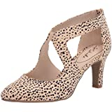 LifeStride Women's Giovanna 2 Pump, Natural Spotted Leopard, 7 Wide