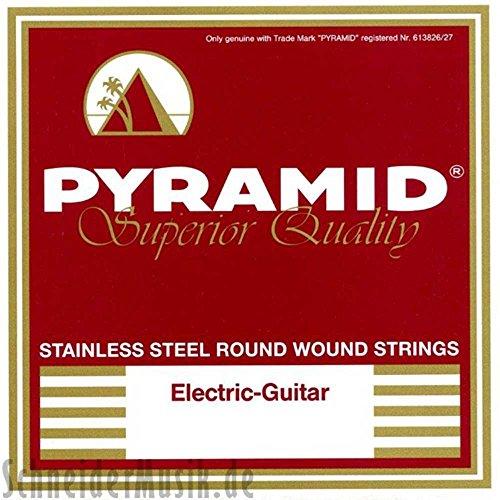 Pyramid Stainless Steel Light/Medium E-Gitarrensaiten NEU
