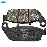 NIKAVI Rear Brake Disc Pad Compatibel for Honda Dazzler,CB Shine,Hornet 160 CBS,Trigger, Unicorn 160 / Suzuki Gizxer,SF,Intruder,