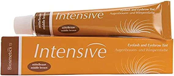 Intensive - tinte para Cejas y pestañas, 20 ml