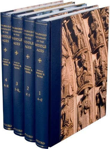 Compare Textbook Prices for The Oxford Dictionary of the Middle Ages 4 volume set 1 Edition ISBN 9780198662624 by Bjork, Robert E.