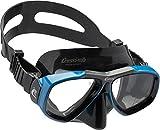 Cressi Tauchmaske Erwachsen Focus Optische Gläser Möglich Gafas de Buceo, Unisex, Negro/Azul
