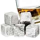 pierres à whisky glaçons réutilisables 9pc potable velours pierres de granit
