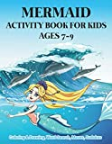 Mermaid Activity Book for Kids Ages 7-9 | Coloring & Drawing, Word Search, Mazes, Sudokus: Mind Flourishing Funny Book For Preschool & Kindergarten ... Monofin Tails Mermaid in Monster Surfing Wave