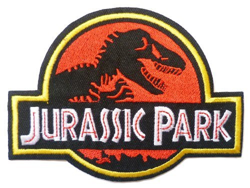 JURASSIC PARK Logo Aufnäher/Aufbügler