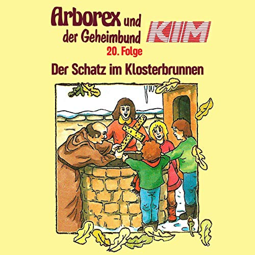 Der Schatz im Klosterbrunnen audiobook cover art