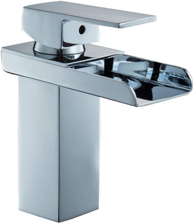 L22LW Wasserhahn Das Neue Quartett Waschtisch Wasserfall Armatur Bad Waschbecken kaltes Wasser voll Kupfer Waschbecken Wasserhahn