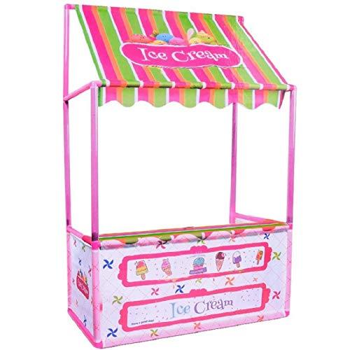 B Baosity Tienda de Carpa de Casa de Juegos de Helados para Niños - Rosa