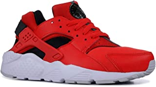 Youth Huarache Run GS Leather Textile Trainers