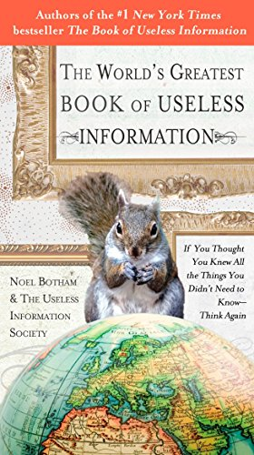 funny stocking stuffer ideas for adults useless information book