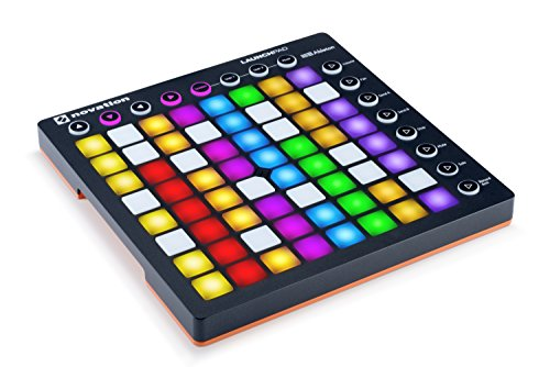 Novation Launchpad MK2 Ableton Live Controller mit 64-RGB Backlit Pad (8x8 Grid)