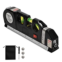 ✔ WORKS FOR INDOOR - Suitable For Any Situation Where A Straight Line Or Accurate Measurements Are Needed, Such As Measuring Locations On Wall, Home-renovation Project, Space Between Hangers, Level The Nails, Hang Pictures, Shelves And Cabinets And T...
