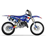 BLU BULL MX MOTOCROSS DECAL KIT DECALCOMANIE PER YAMAHA YZ 125 250 2006-2012