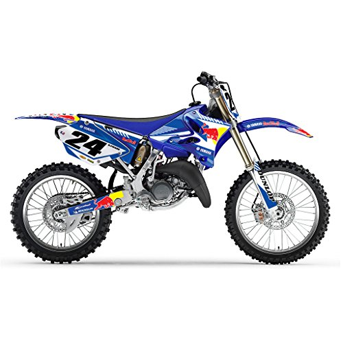 Azul Bull MX Motocross Kit DE Decal para Yamaha YZ 125 250 2006-2012