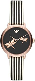 Emporio Armani Women's Two-Hand Rose Gold-Tone Stainless Steel Watch AR11232