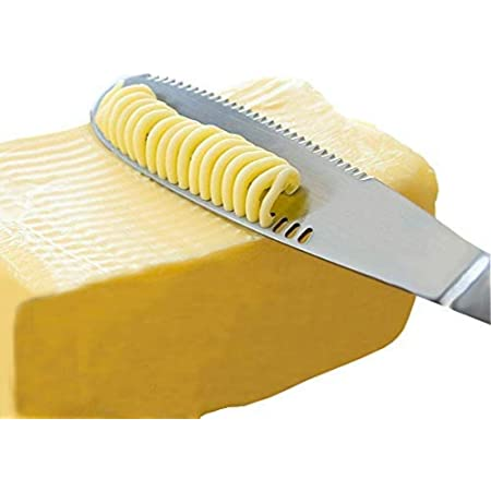 Stainless Steel Butter Spreader, Knife - 3 in 1 Kitchen Gadgets (1)