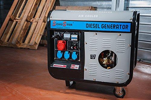 Diesel Stromerzeuger 5500W–220/380