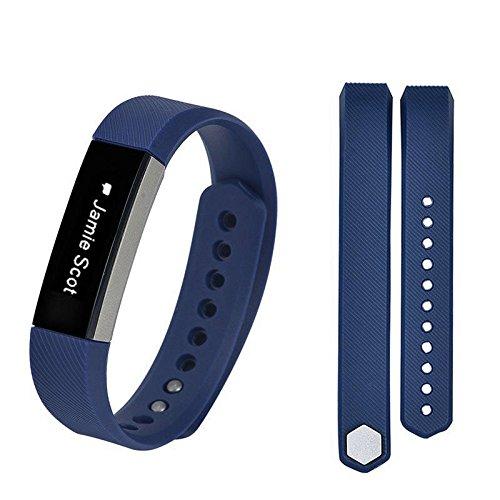 Pulsera de Smart Watch, pequeña Correa de Repuesto para la Pulsera Fitbit Alta HR, Azul Oscuro