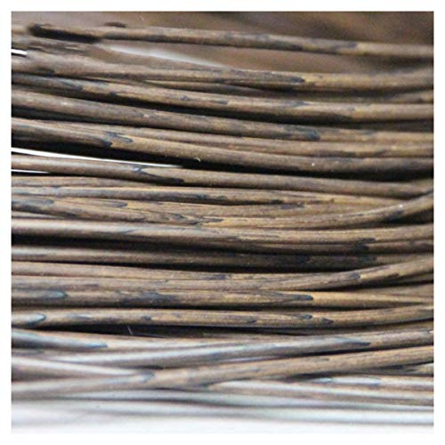 NN/AA 10m solide runde Rattan PE Kunststoff Simulation Rattan Rattan Linie Wicker Stuhl Couchtisch Aufbewahrungskorb Webmaterial Material Handmade DIY