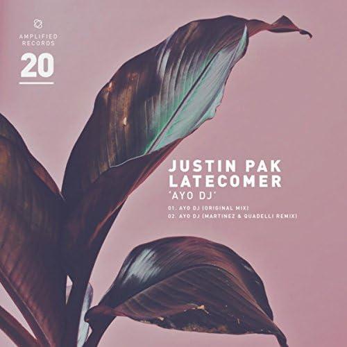 Latecomer (UK), Justin Pak