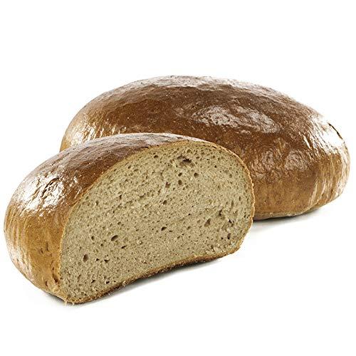 Vestakorn Handwerksbrot, Roggenmischbrot 1kg - frisches Brot – Natursauerteig, selbst aufbacken in 10 Minuten